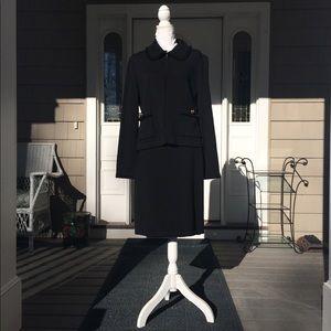 St. John Caviar Suit